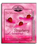 Strawberry Dreams Forever label