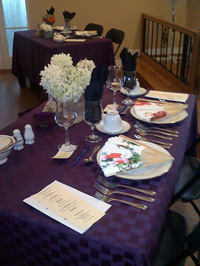Luncheon at the Manor